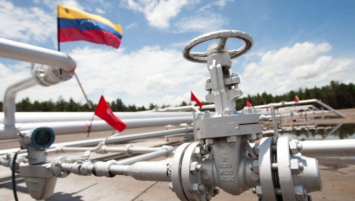 Ölnation in der Staatskrise: Diese Konzerne haben in Venezuela etwas zu verlieren