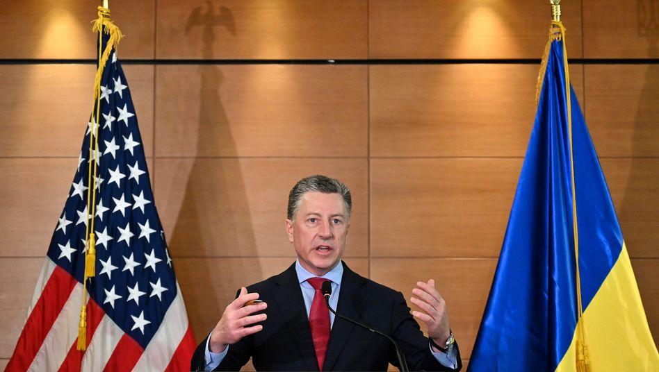 Kurt Volker: Seit 2017 war er US-Sonderbeauftragter für den Ukraine-Konflikt