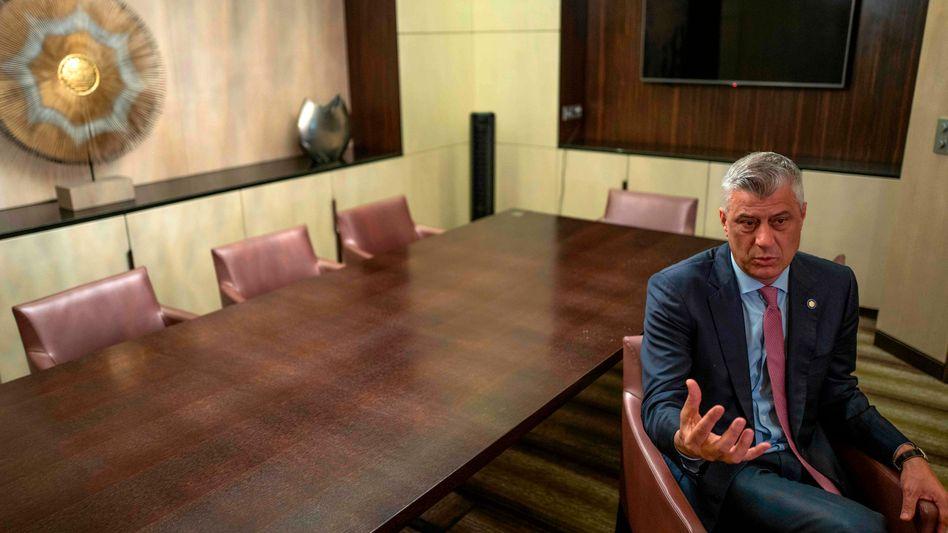 """Kosovos Präsident Hashim Thaci: """"Serbien muss das Kosovo endlich anerkennen"""""""