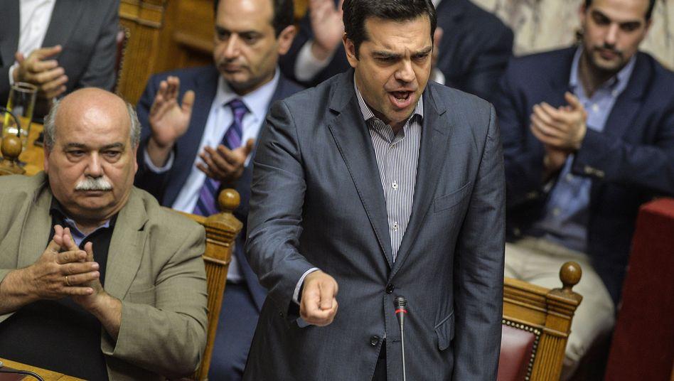 Reformpaket: Griechisches Parlament stimmt für Sparpläne