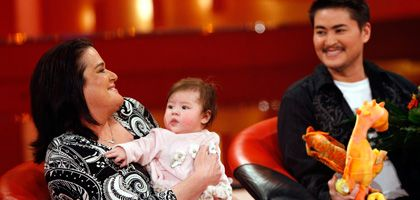 Thomas Beatie, seine Frau Nancy und Tochter Susan Juliett: Nach der Geburt ihrer Tochter entschloss sich das Paar rasch zu einer weiteren Schwangerschaft Beaties