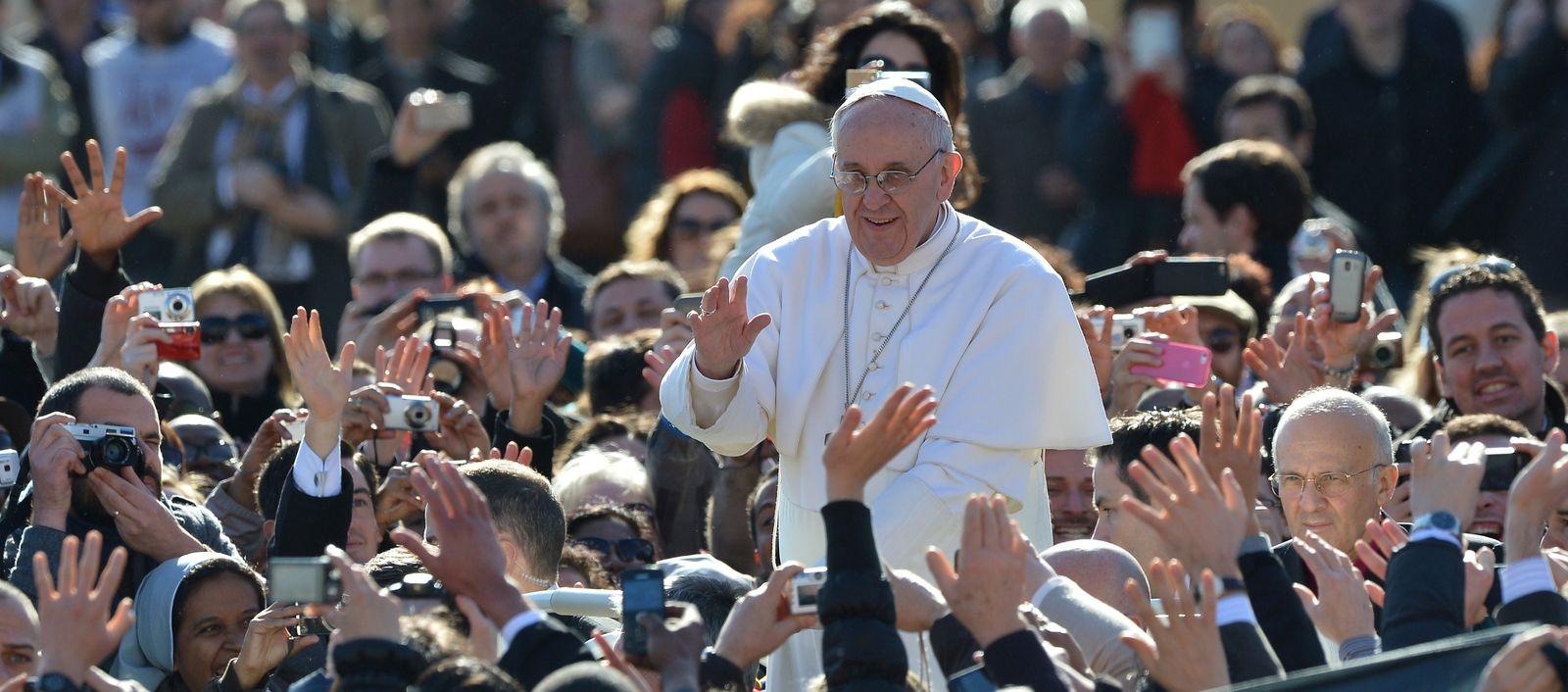 Papst Franziskus / Amtseinführung