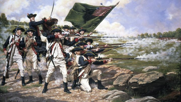 Amerikanischer Unabhängigkeitskrieg: Soldatenfriedhof unter Brooklyn