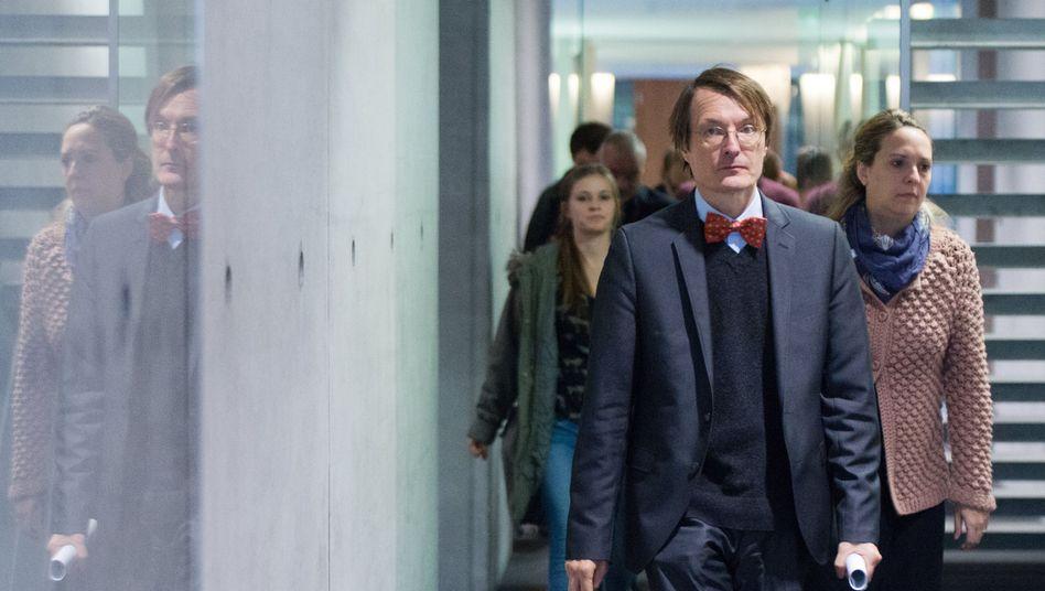 SPD-Gesundheitsexperte Karl Lauterbach: Streit um zentrale Finanzierungsfragen