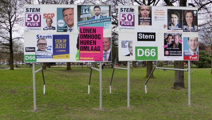 Maastricht: Wahlkampf in Wilders' Heimat
