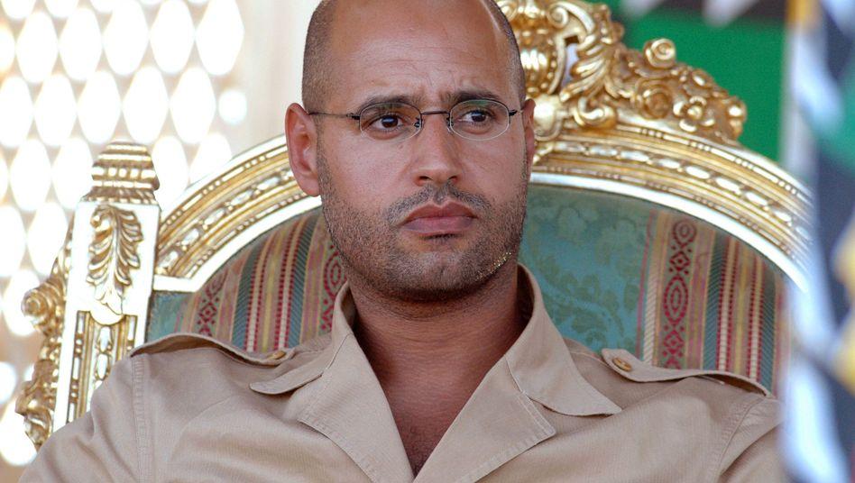Gaddafi-Sohn Saif: Spende von 1,5 Millionen Pfund