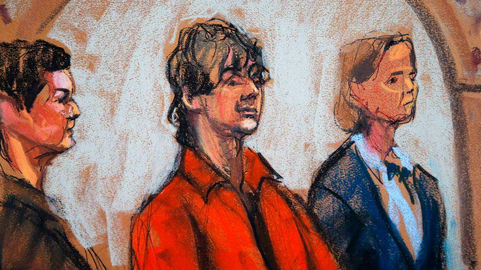 Mutmaßlicher Boston-Bomber vor Gericht: Sieben Minuten mit dem Phantom