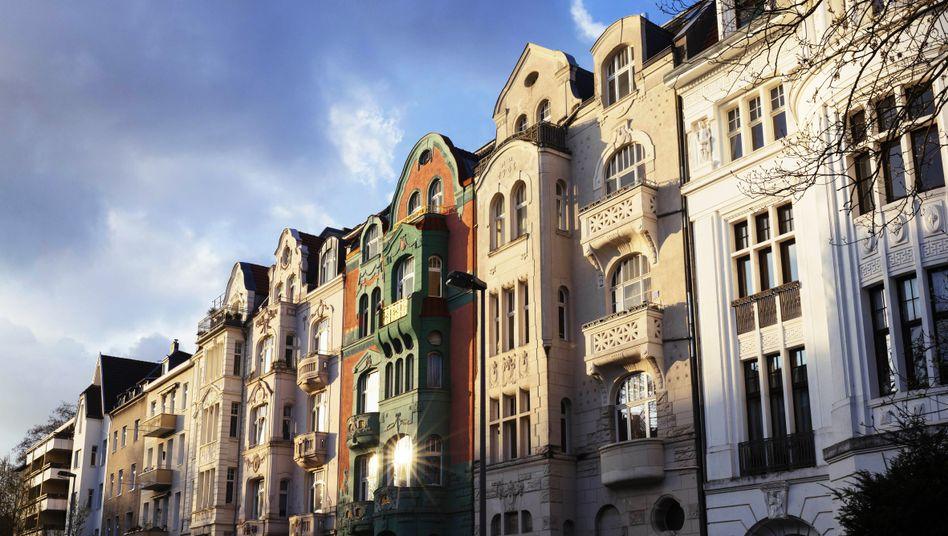 Altbau-Wohnhäuser in Köln (Archivbild)