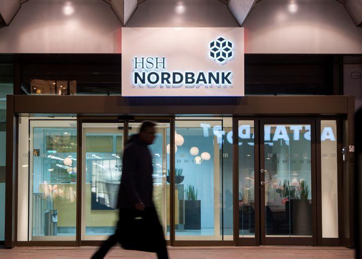 Filiale der HSH Nordbank in Hamburg