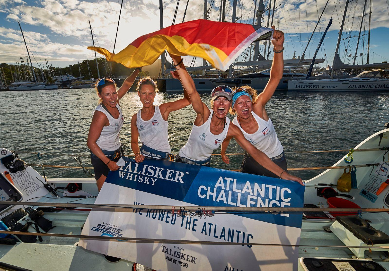 Talisker Whisky Atlantic Challenge/ Wellenbrecherinnen