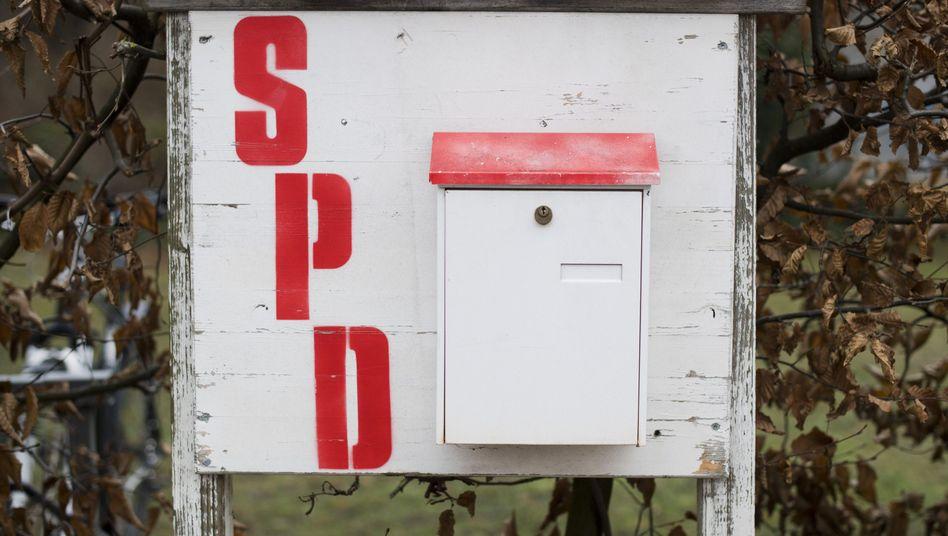 Alter SPD-Briefkasten: Die Sozialdemokratie hat keine moderne Erzählung zu bieten