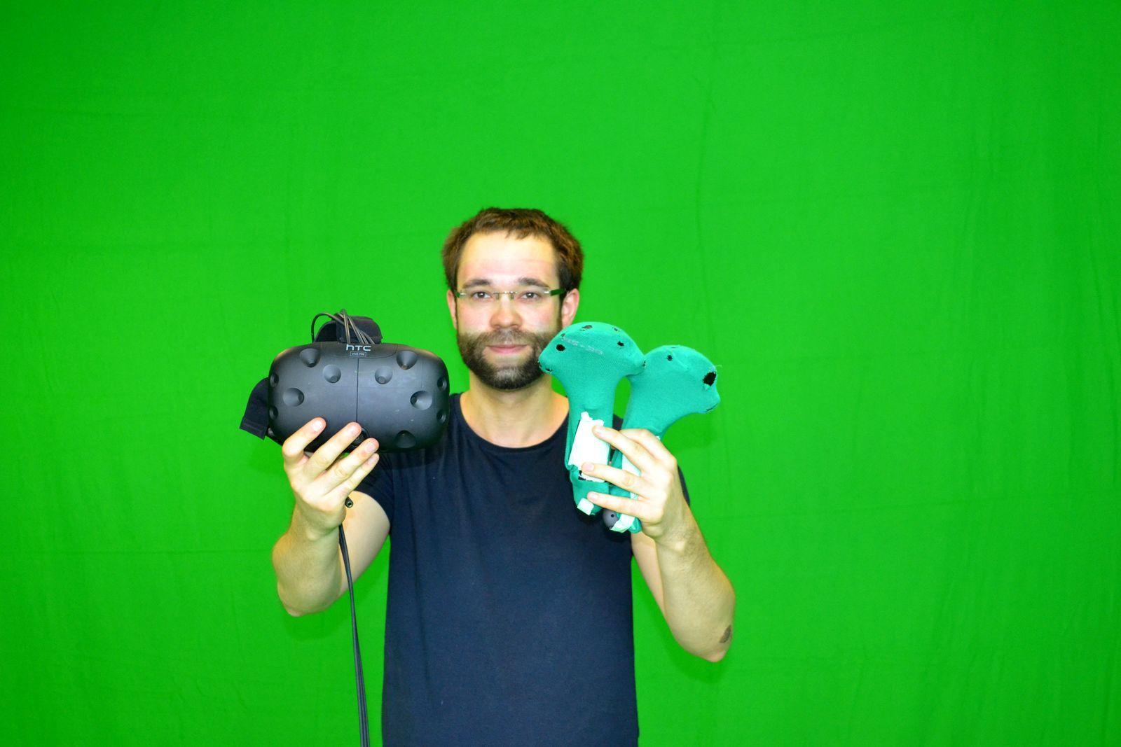 VR Greenscreen Markus