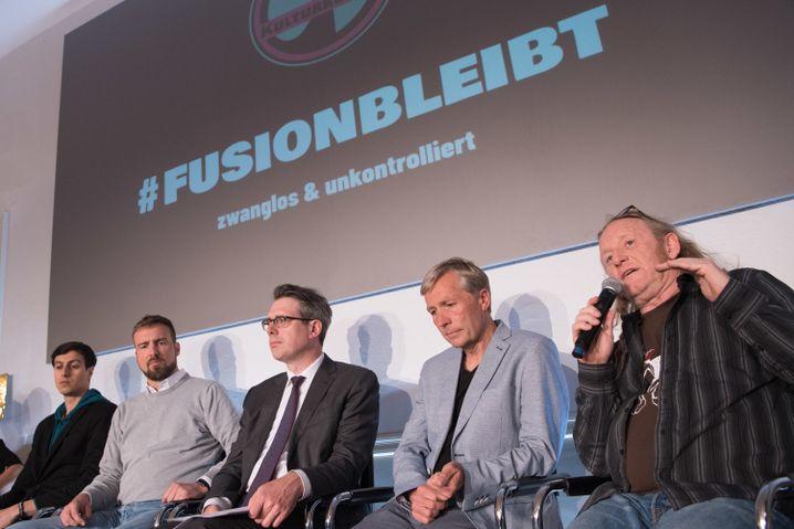 Pressekonferenz des Kulturkosmos