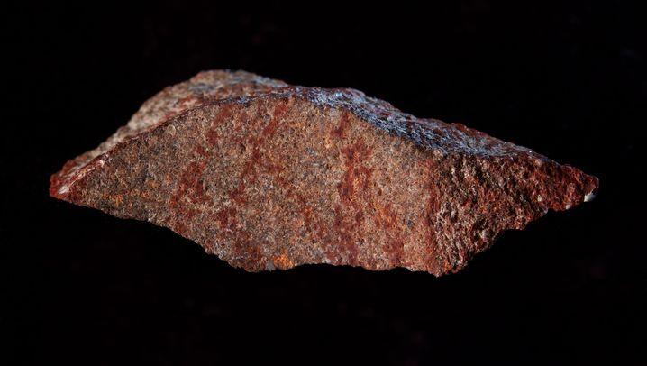 Frühe Kunst: 73.000 Jahre alter Hashtag
