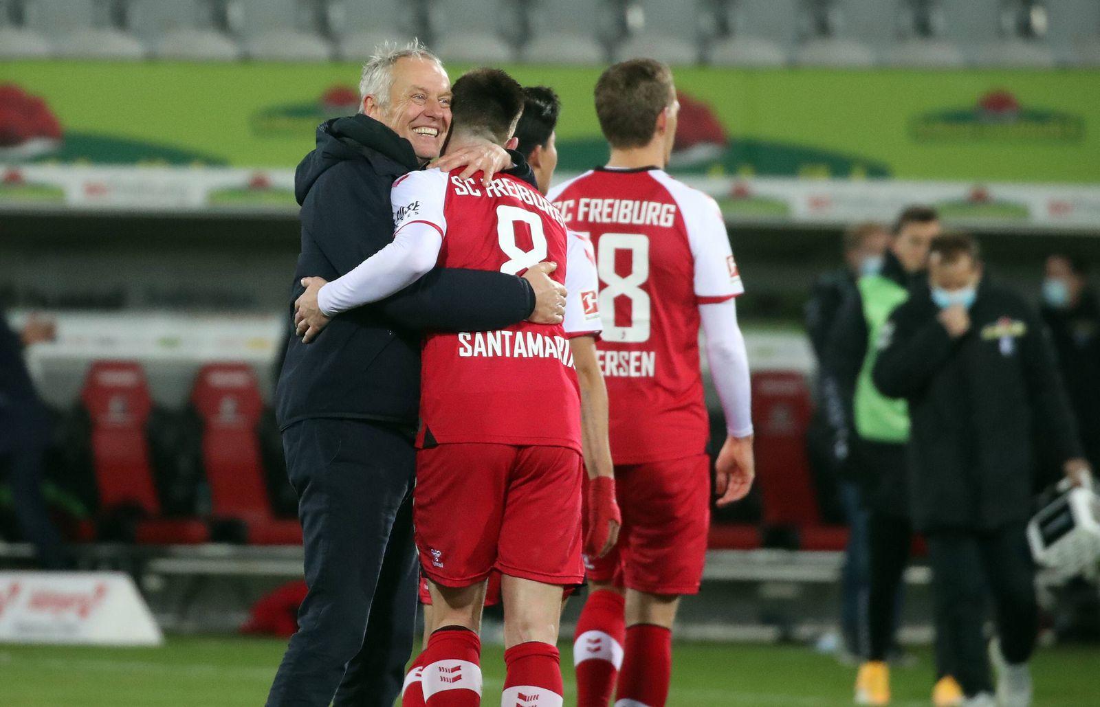 09.01.21 SC Freiburg - 1. FC Köln Deutschland, Freiburg, 09.01.2021, Fussball, Bundesliga, Saison 2020/2021, SC Freibur