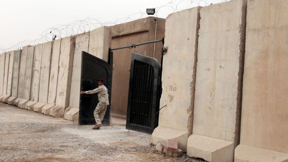 Von Irakern geführtes Gefängnis in Bagdad: Gefangene mit Elektroschocks gefoltert