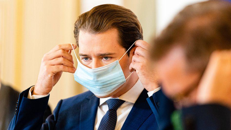"""Kanzler Sebastian Kurz: """"Kein Land der Welt wird es zulassen, dass die Intensivmedizin überfordert wird"""""""