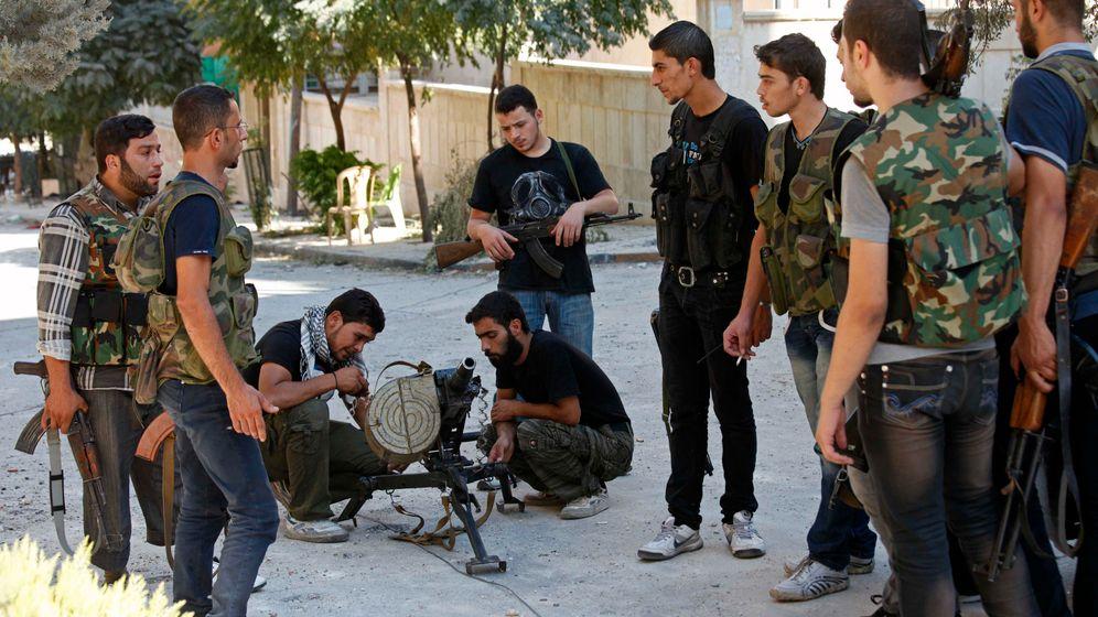 Krieg gegen Assad: Straßenkampf in Aleppo