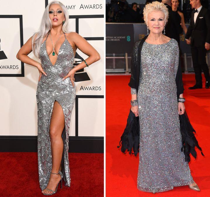 Lady Gaga bei den Grammys, Julie Walters bei den Baftas