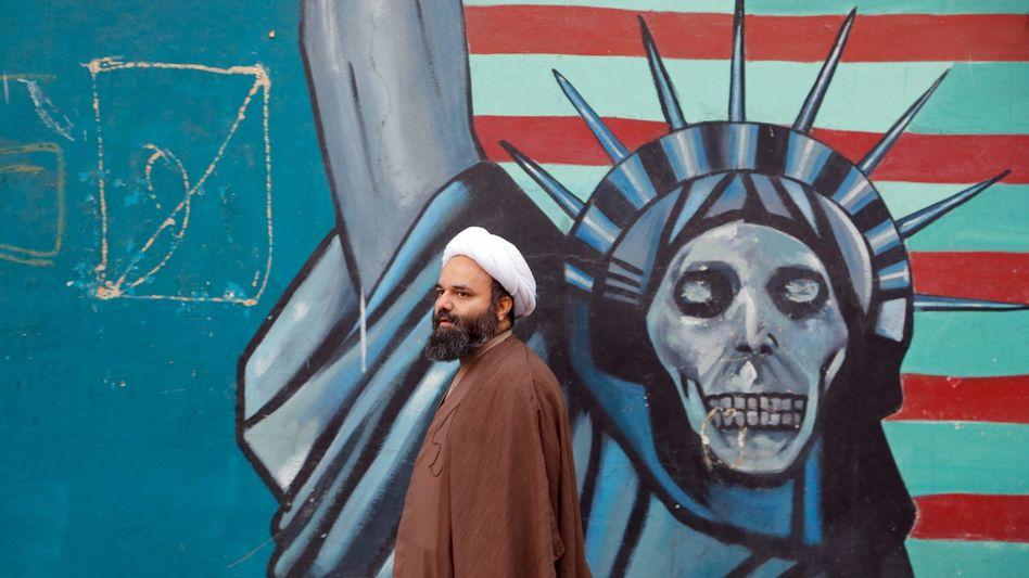 Antiamerikanische Propaganda in Teheran