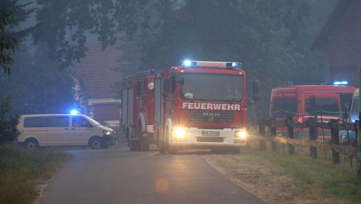 Waldbrand in Mecklenburg: Ein Großeinsatz historischen Ausmaßes