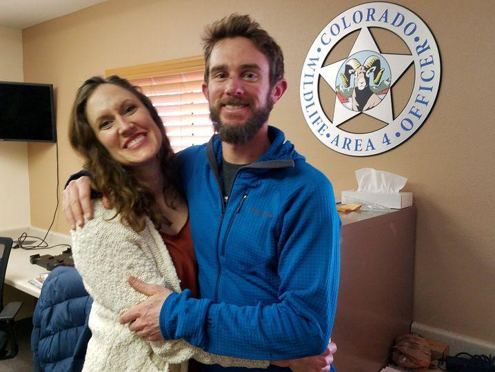 Kauffman mit seiner Freundin