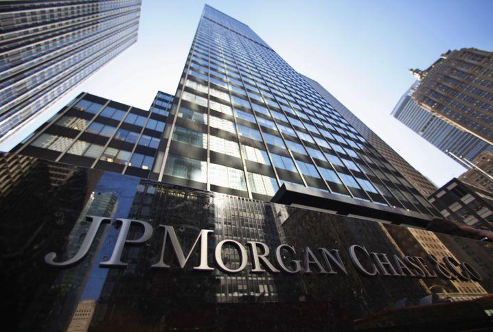 JP-Morgan-Zentrale in New York: Fast sechs Milliarden Gewinn - im Quartal