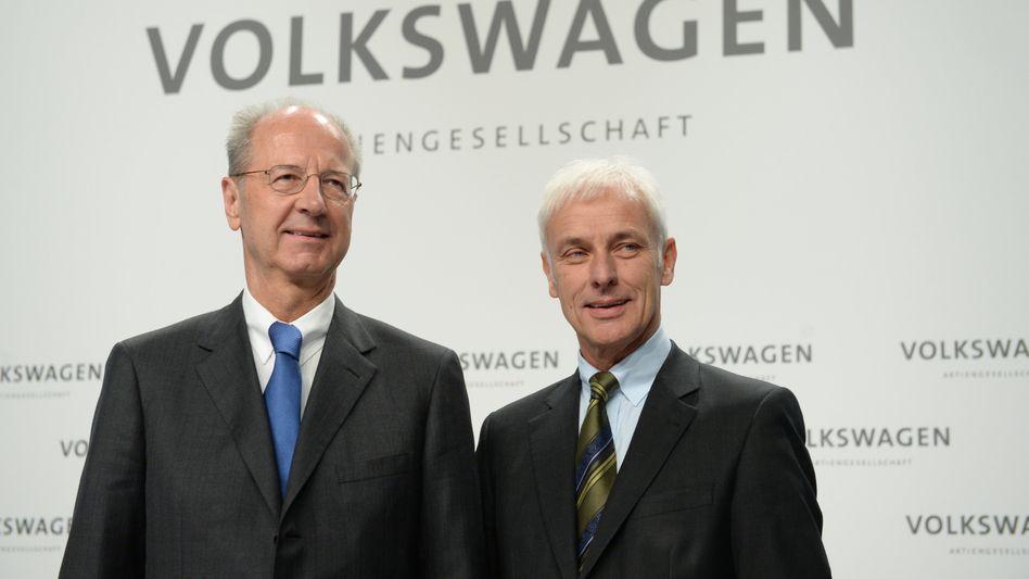 Hans Dieter Pötsch und Matthias Müller