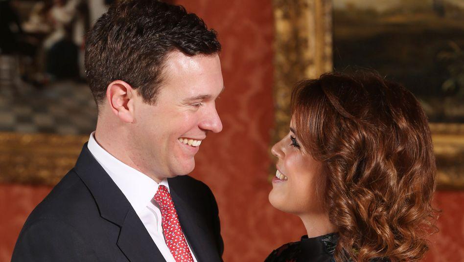 Royaler Nachwuchs in Großbritannien: Prinzessin Eugenie und Jack Brooksbank bekommen ein Kind