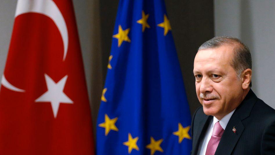 """Türkischer Präsident Erdogan: """"Sie haben Blut an ihren Händen"""""""