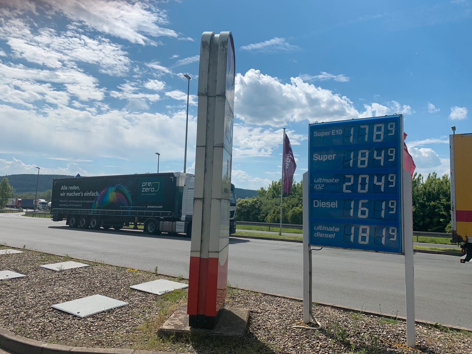 A7 Raststätte Harz