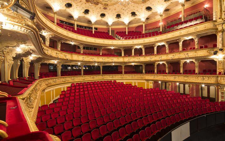 Im Opernhaus Zürich wurde die Anzahl der Plätze reduziert.