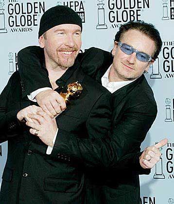 "U2 mit Golden Globe: ""Fucking brilliant"""