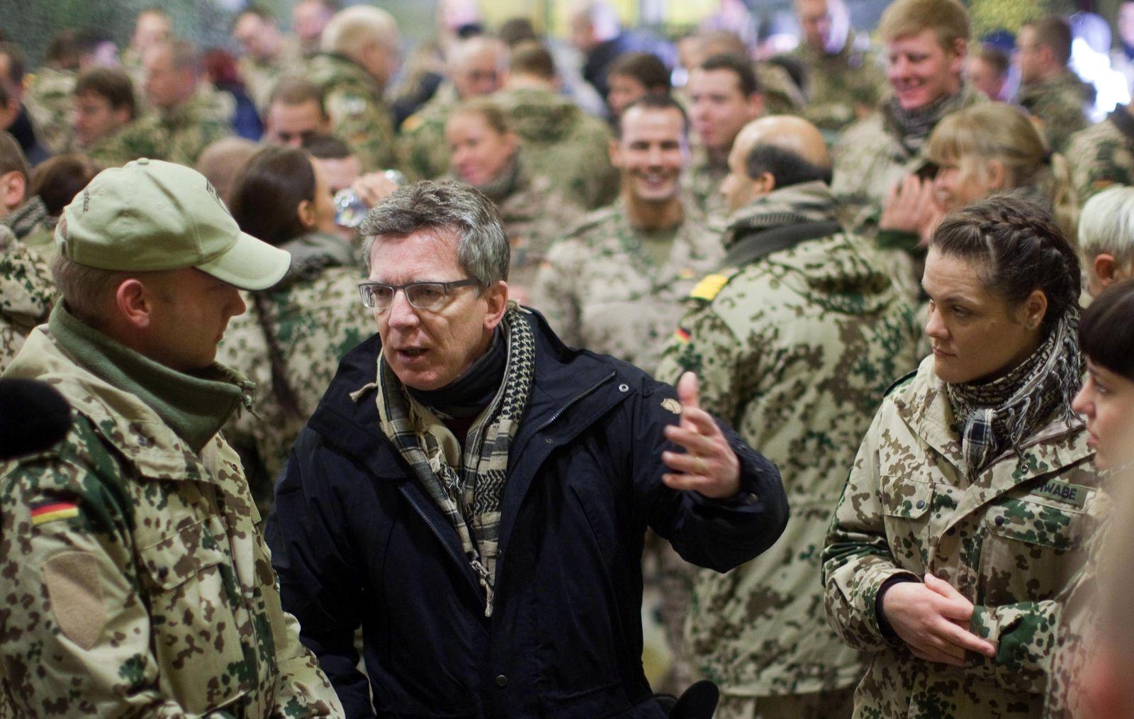 Maiziere Bundeswehr