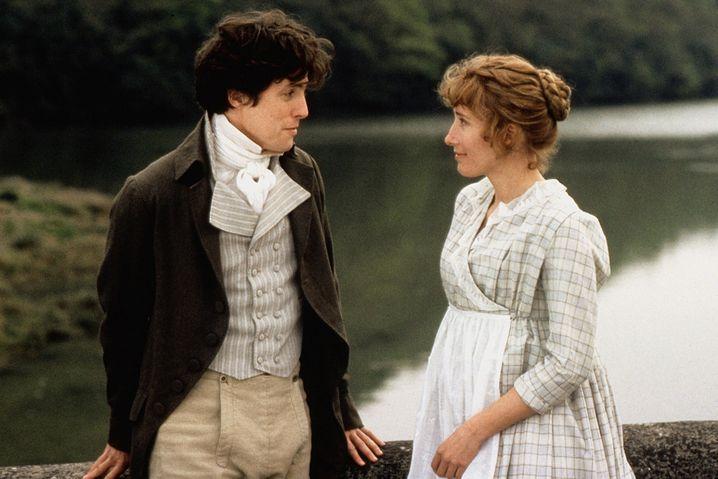 Edward (Hugh Grant) und Elinor (Emma Thompson) verlieben sich