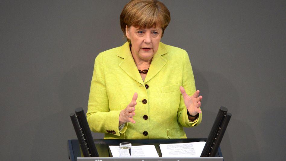Bundeskanzlerin Merkel (Archiv): Kein EU-Beitritt für die Ukraine