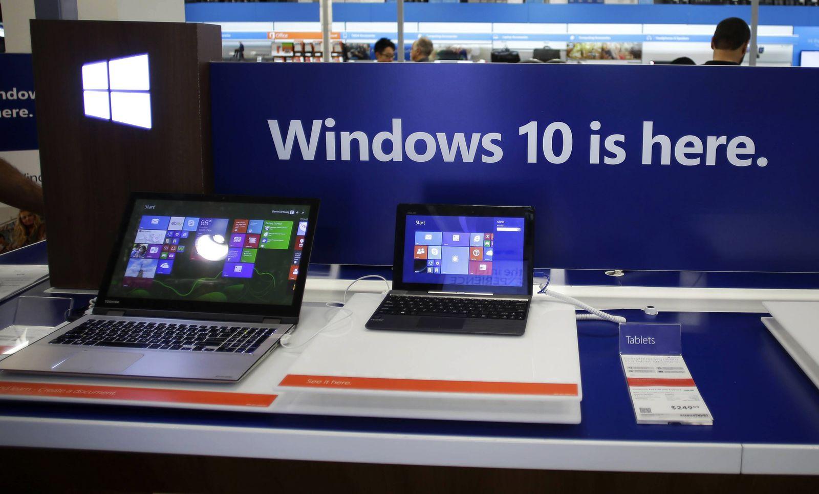 EINMALIGE VERWENDUNG Microsoft Windows 10