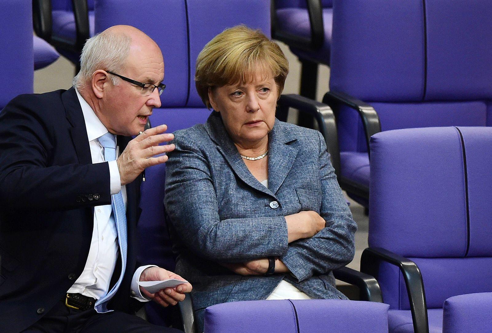 Merkel / Kauder