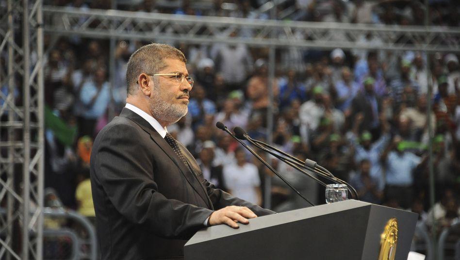 Präsident Mohammed Mursi: Personalentscheidung sorgt für Kritik