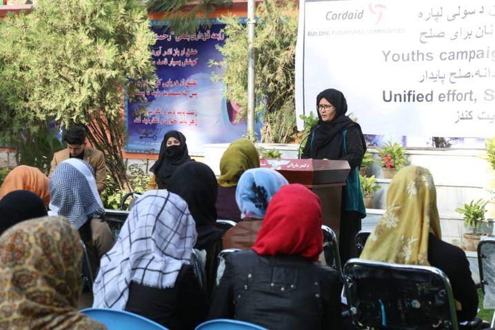 Rustami als Parlamentskandidatin in Kunduz: Die Taliban mögen es nicht, wenn Frauen sich an Entscheidungsprozessen beteiligen