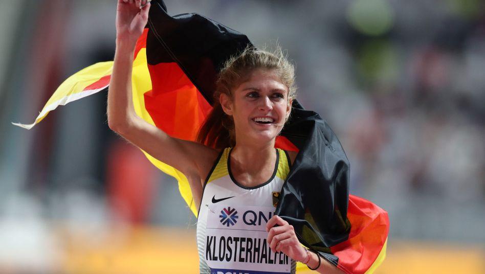 Konstanze Klosterhalfen holte Bronze über 5000 Meter