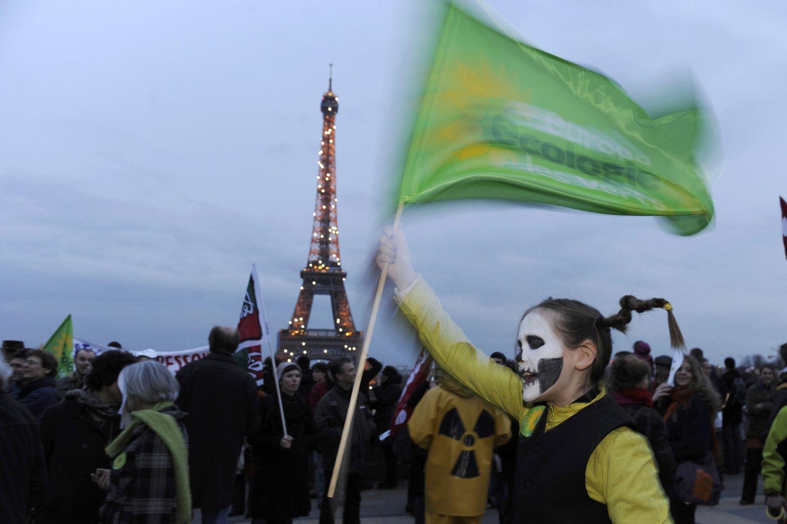 Frankreich Atomproteste