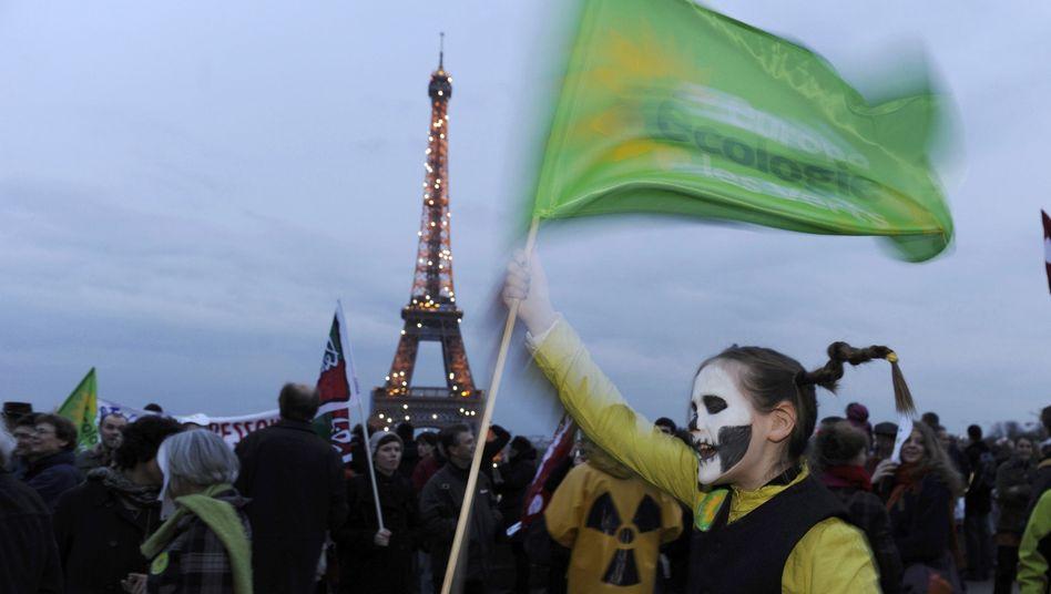 Anti-Atomprotest in Frankreich: Die Euphorie ist in den meisten Staaten verflogen