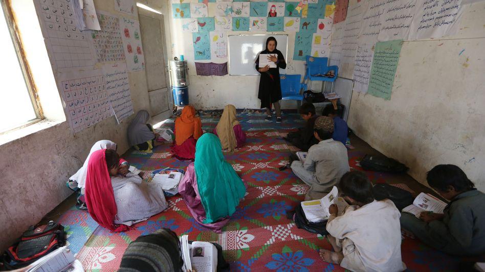 Schule in Kabul