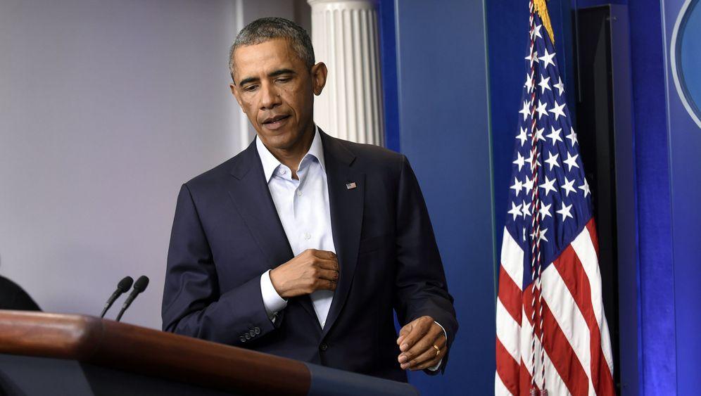 Unruhen in Ferguson: Obama, Mahner in Chief