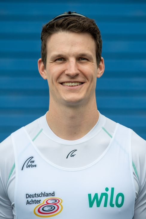 Ruderer Malte Jakschik, 27, freut sich auf die Olympischen Spiele.