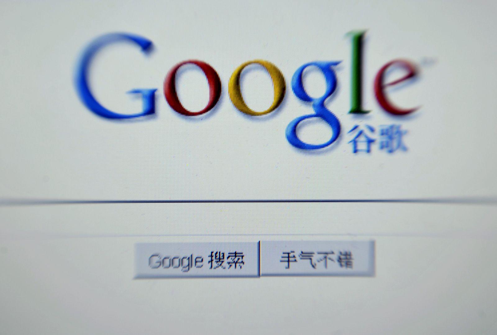 NICHT VERWENDEN Medien: Google legt sich mit China an