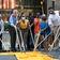 """New Yorks Bürgermeister malt """"Black Lives Matter""""-Schriftzug"""