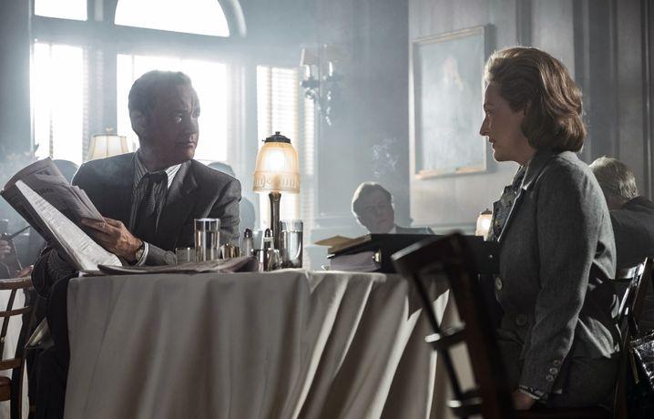 """Tom Hanks und Meryl Streep in """"Die Verlegerin"""""""