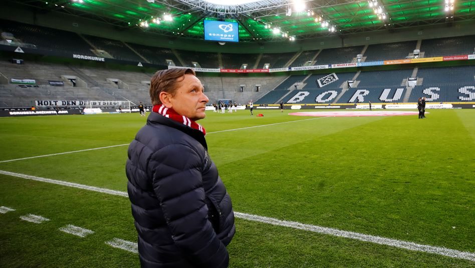 Kölns Sport-Geschäftsführer Horst Heldt im Borussia-Park
